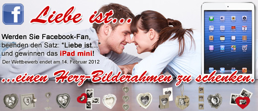 Gewinnspiel zum Valentinstag
