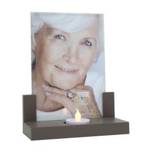 Bilderrahmen mit Kerze