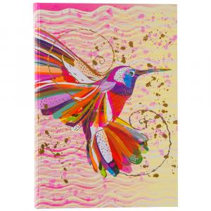 Notizbuch Flower Kolibri