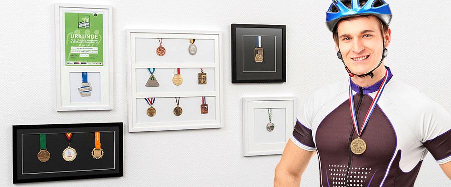 Bilderrahmen Für Medaillen