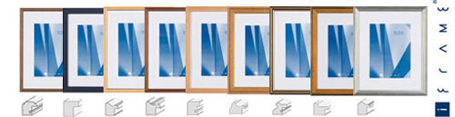 aicham larson juhl holz wechselrahmen iframe. Black Bedroom Furniture Sets. Home Design Ideas