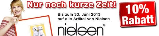 Nielsen Bilderrahmen Rabattaktion