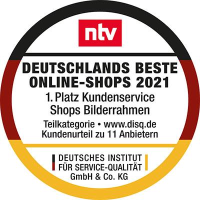 DISQ Deutschlands Beste Online-Shops 2021