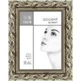 Thumbnail von Holz-Bilderrahmen Arabesque Silber 13x18 cm