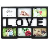 Thumbnail von Collage-Bilderrahmen Love schwarz