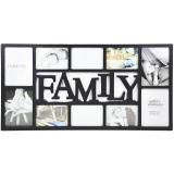 Thumbnail von Collage-Bilderrahmen Family schwarz