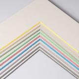 Thumbnail von 2,2 mm ColorCoreStripe Passepartout mit individuellem Ausschnitt