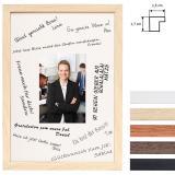 Thumbnail von Signatur-Bilderrahmen aus Holz - DIN A4
