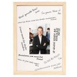 Thumbnail von Signatur-Bilderrahmen aus Holz - DIN A4 Natur