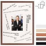 Thumbnail von Signatur-Bilderrahmen aus Holz - 30x40 cm