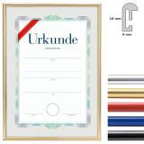 Thumbnail von Kunststoffrahmen mit Urkunde, DIN A4
