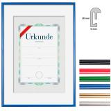Thumbnail von Kunststoffrahmen mit Urkunde, DIN A3