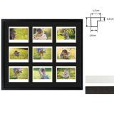 Thumbnail von Bilderrahmen für 9 Sofortbilder - Typ Instax Wide