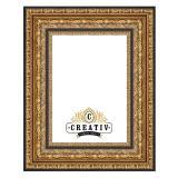Thumbnail von Barock Holzbilderrahmen Carrara gold-schwarz