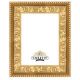 Variante gold von Barock Holzbilderrahmen Marsala Maßanfertigung