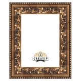 Variante gold-schwarz von Barock Holzbilderrahmen Marsala Maßanfertigung