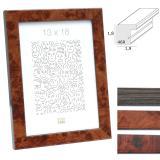 Thumbnail von Kunststoff-Bilderrahmen in Wurzelholzfarbe