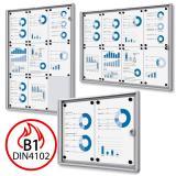 Thumbnail von B1 Brandschutz-Schaukasten XS Economy für den Inneneinsatz