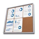 Thumbnail von Schaukasten XS Economy Kork für den Inneneinsatz