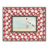 Thumbnail von Dekolino White Blossom on Red