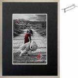 Thumbnail von Holz-Bilderrahmen mit Passepartout Silverbox