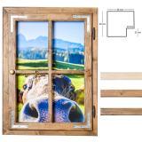 Thumbnail von Dekofenster 50x70 Kuh-Motiv