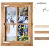Thumbnail von Dekofenster 50x70 Wasserfall-Motiv