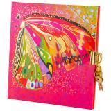 """Thumbnail von Tagebuch """"Flower pink Butterfly"""""""
