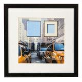 Thumbnail von Kunststoff-Bilderrahmen Puro mit Passepartout schwarz