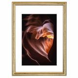 Variante Gold von Holz-Bilderrahmen Phoenix