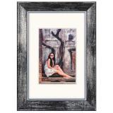 Variante schwarz von Holz-Bilderrahmen Aimee