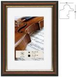 Thumbnail von Holz-Bilderrahmen Verona mit Passepartout