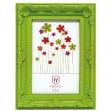 Variante Grün von Kunststoff-Bilderrahmen Barock Colour