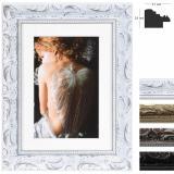 Thumbnail von Holz-Bilderrahmen Chic Baroque mit Passepartout