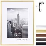 Thumbnail von Alurahmen Manhattan mit Passepartout