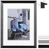 Thumbnail von Holz-Bilderrahmen Umbria mit Passepartout