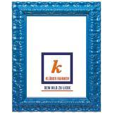 Variante coelinblau von Barockrahmen Salamanca Color nach Maß
