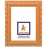 Variante DARE orange von Barockrahmen Salamanca Color nach Maß