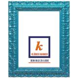 Variante türkisblau von Barockrahmen Salamanca Color nach Maß