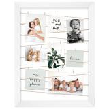 Thumbnail von Fotogalerie mit Leine für 20 Bilder Weiß gebürstet