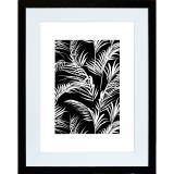 Variante Schwarz glänzend - Weiß glänzend von Fotorahmen Natalia