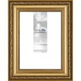 Thumbnail von Barock-Bilderrahmen Fichtenau mit Doppel-Passepartout Gold