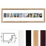 """Thumbnail von Regiorahmen """"Braunschweig"""" mit Passepartout"""