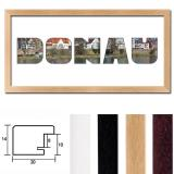 "Thumbnail von Regiorahmen ""Donau"" mit Passepartout"