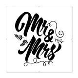 Thumbnail von Bilderrahmen mit Spruch - Mr & Mrs