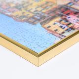 Variante gold von Kunststoff-Puzzlerahmen für 1000 Teile