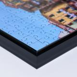 Variante schwarz von Kunststoff-Puzzlerahmen - Sonderformat bis max. 100x100 cm