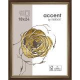 Thumbnail von Holzrahmen Ascot Dunkelbraun-Gold 18x24 cm