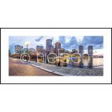 "Thumbnail von Gerahmtes Bild ""Promenade"" mit Alurahmen C2"