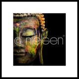 """Thumbnail von Gerahmtes Bild """"Buddha head"""" mit Alurahmen C2"""